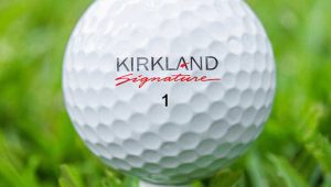 who makes kirkland golf balls